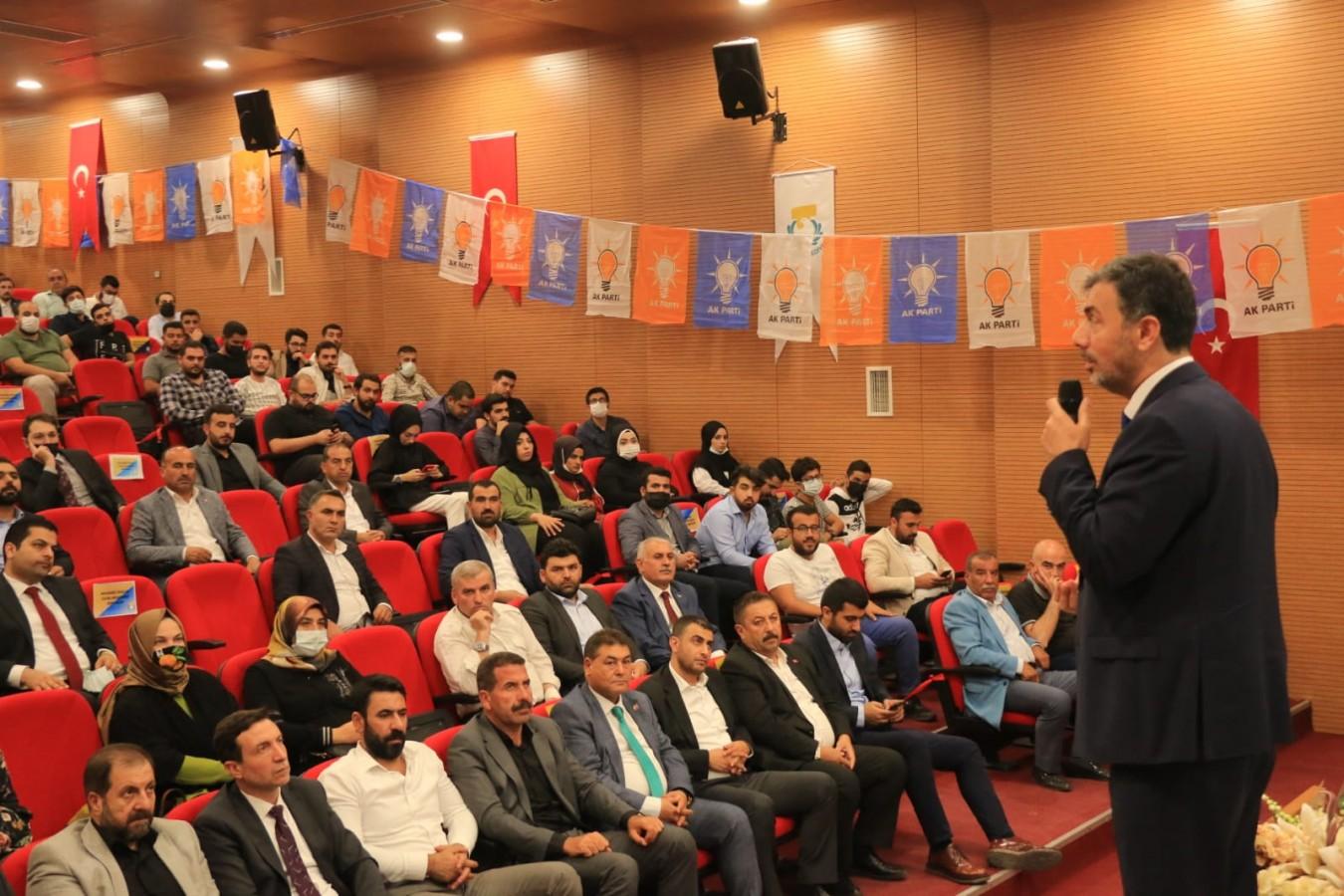 AK Parti Şanlıurfa İl Başkanı AK kadrolarla buluştu