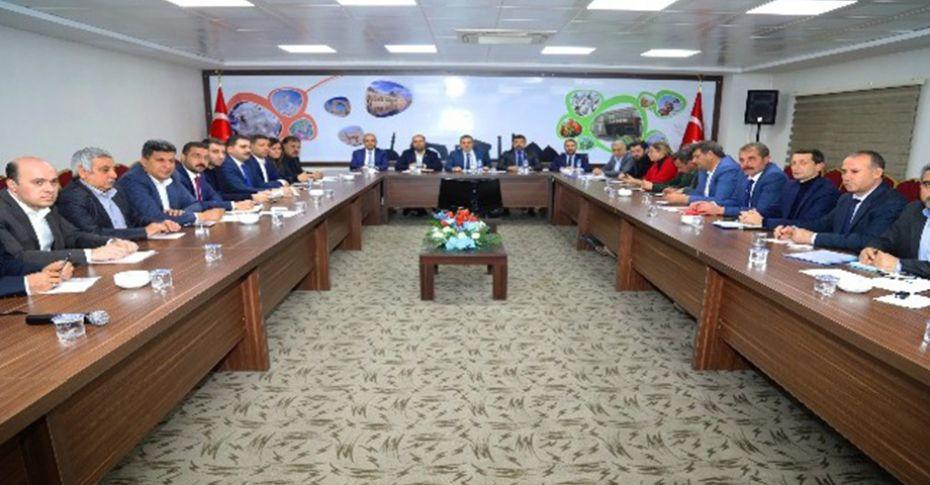 AK Parti Şanlıurfa kongresi öncesi hazırlıklar tamamlandı