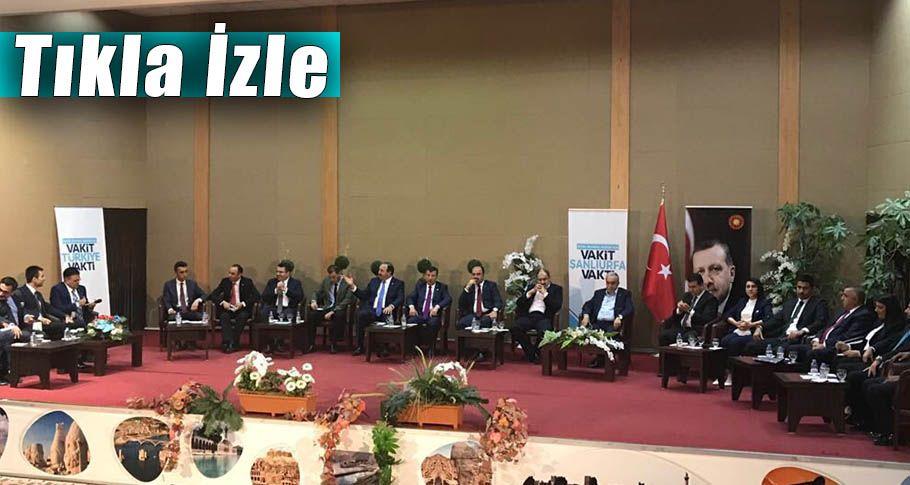 AK Parti Şanlıurfa Milletvekili Adayları ortak canlı yayın programı
