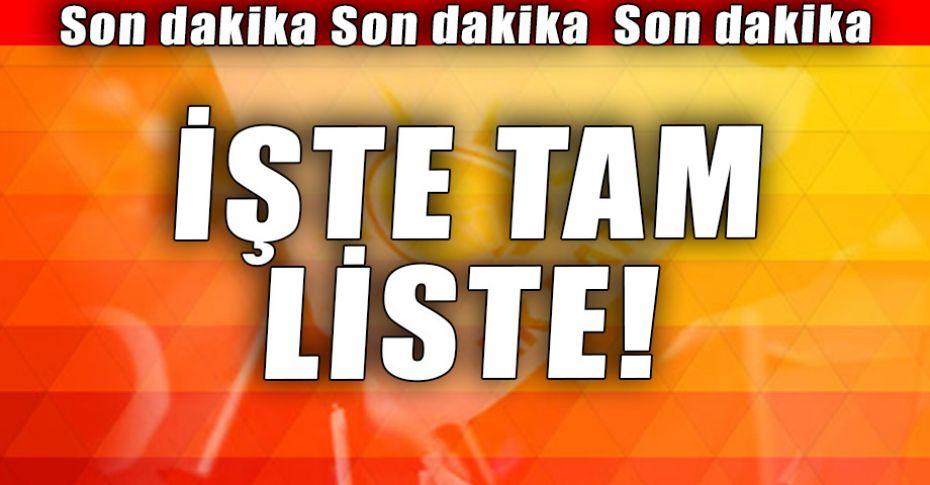 AK Parti Şanlıurfa Milletvekili Aday Listesi açıklandı!