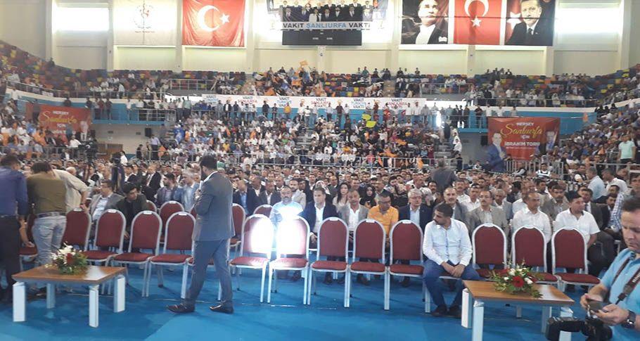 AK Parti Şanlıurfa Milletvekili Aday Tanıtım Programı başlıyor