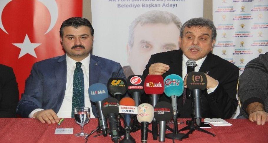 AK Parti Şanlıurfa'da seçim startını verdi