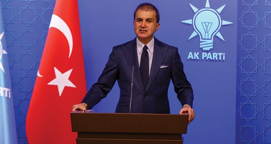 AK Parti Sözcüsü Çelik'ten önemli açıklamalar !