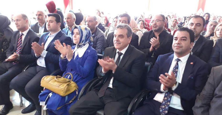 AK Parti Suruç Kadın Kolları Kongresi gerçekleştirildi