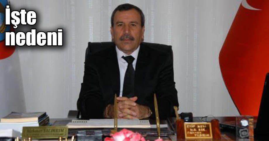 AK Parti Viranşehir ilçe başkanı istifa etti