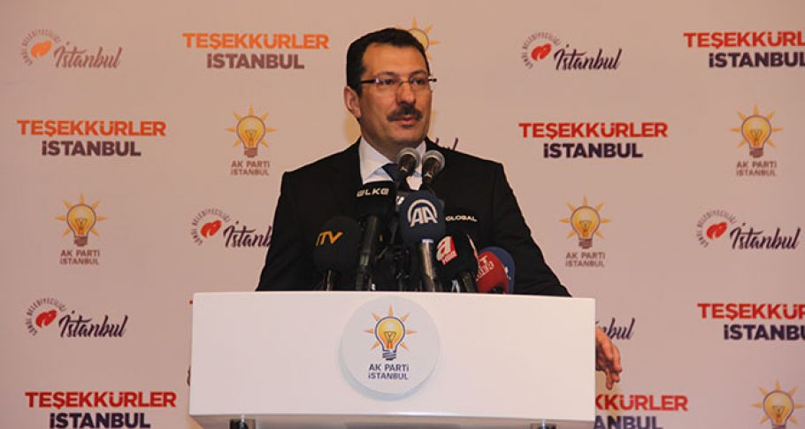 AK Parti'den İstanbul açıklaması !