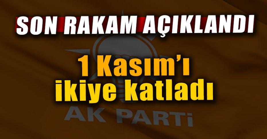 AK Parti'ye rekor başvuru!