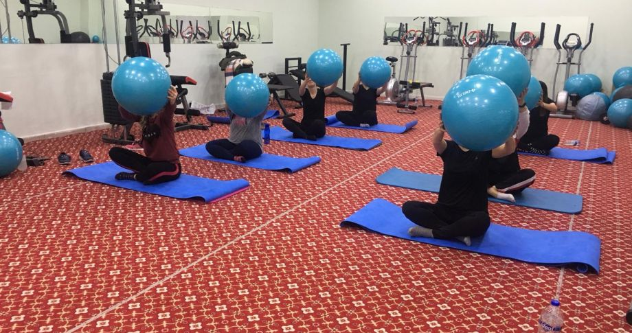 Akçakale Belediyesinden Kadınlara Özel Fitness Kursu