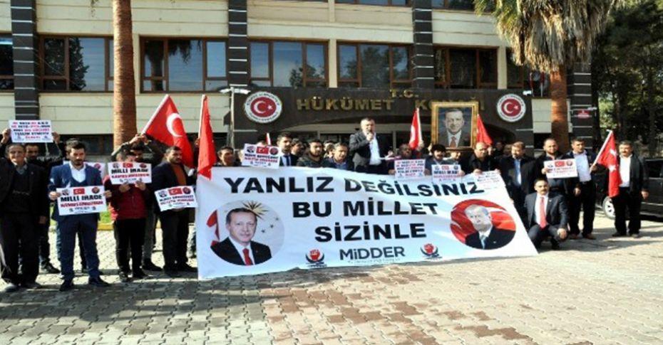 Akçakale'de ABD ve NATO protesto edildi