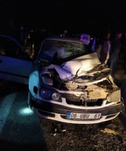 Akçakale'de feci kaza: Ölü ve yaralılar var!