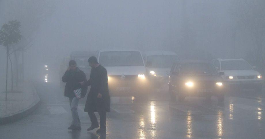 Akçakale'de sis etkin oldu
