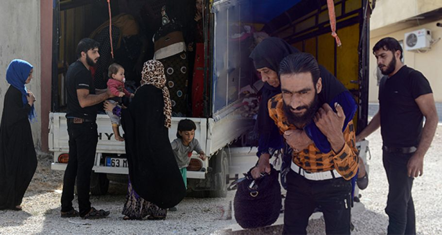 Akçakaleliler geri dönüyor, Tel Abyadlılar dönüş hazırlıklarına başladı