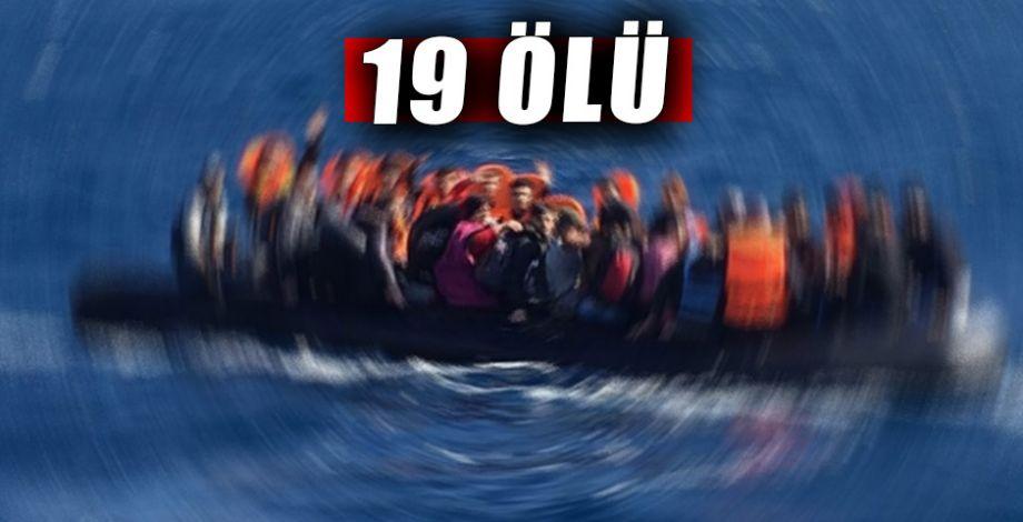 Akdeniz'de mülteci gemisi battı!