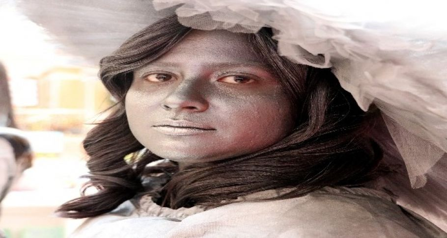 Aksaray'da 3 kadın yeşil için griye boyandı