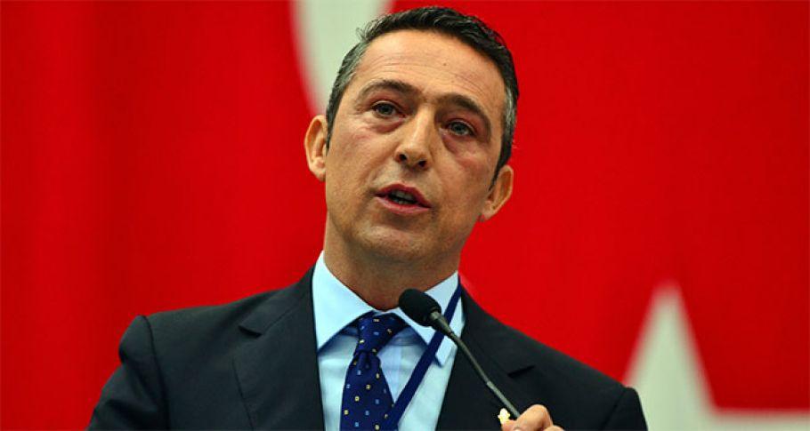 Ali Koç gündem açıklamasını iptal etti