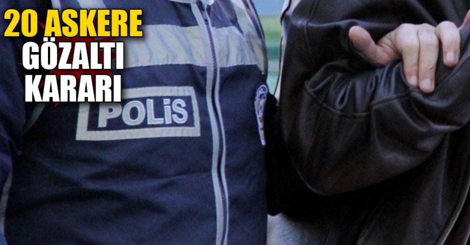 Ankara merkezli 9 ilde FETÖ operasyonu!