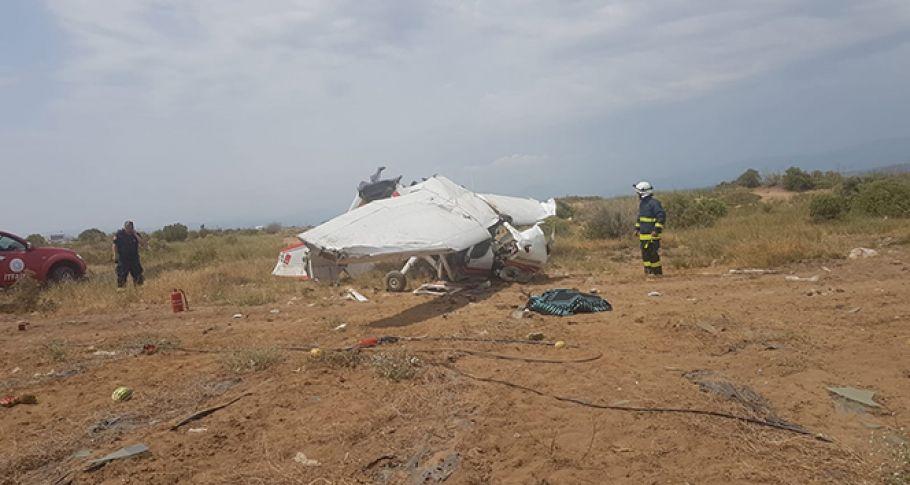 Antalya'da Egitim Uçağı Düştü!