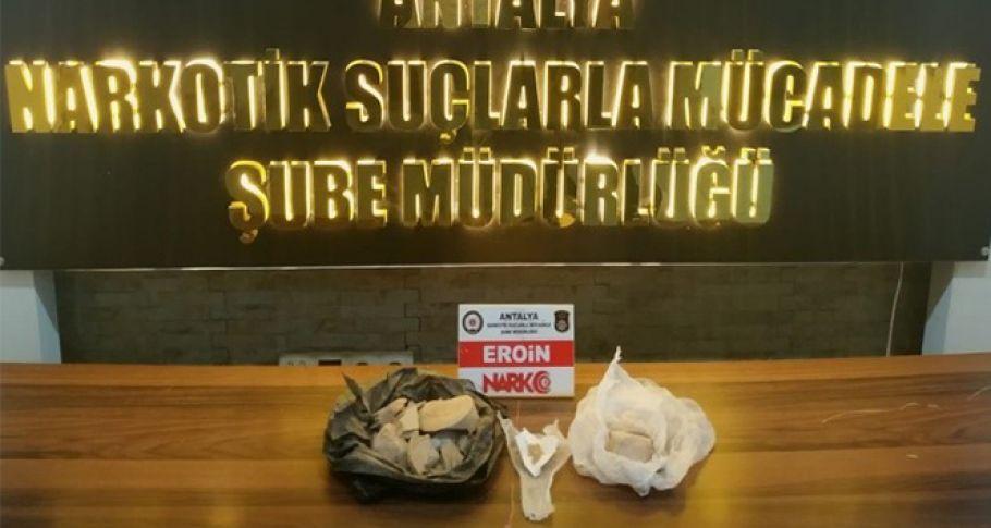 Antalya'da uyuşturucu operasyonu: 112 şüpheli yakalandı
