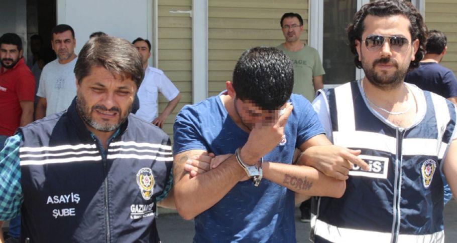 Asker eğlencesinde dehşet saçmıştı: Yakalandı
