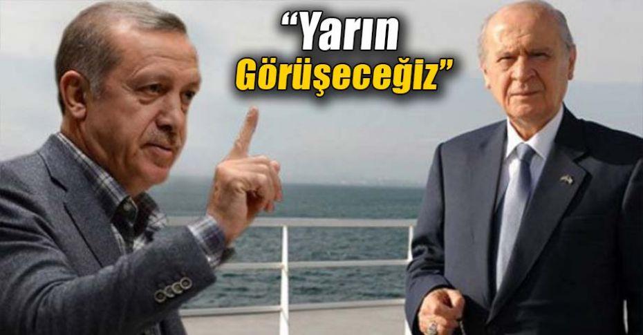 Bahçeli'nin teklifine Erdoğan'dan ilk cevap!