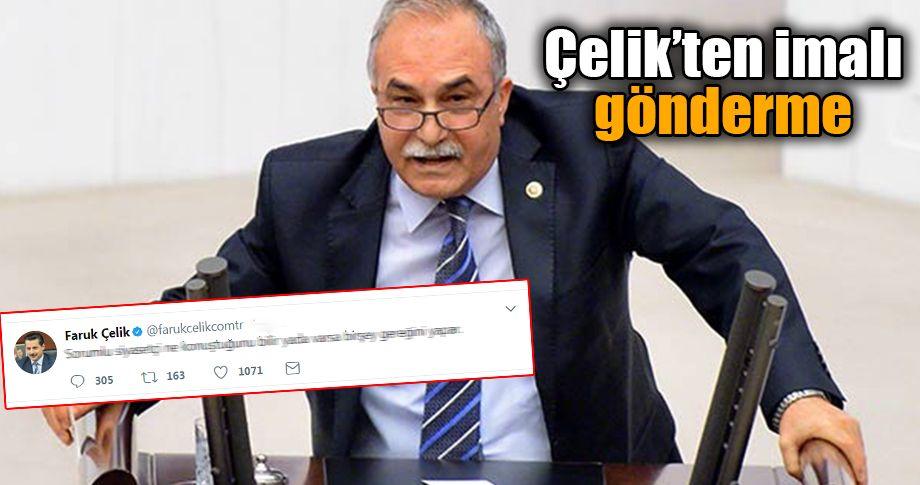 Bakan Fakıbaba ile Çelik arasında twit gerginliği!