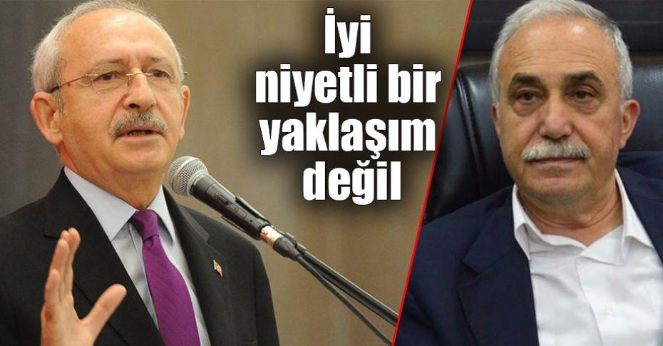 Bakan Fakıbaba ile Kılıçdaroğlu yine karşı karşıya geldi!