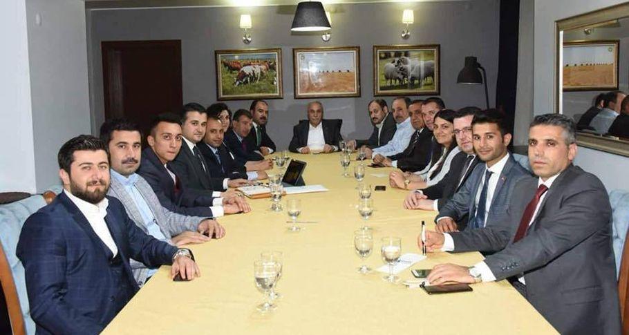 Bakan Fakıbaba Şanlıurfa Milletvekili Adaylarıyla bir araya geldi