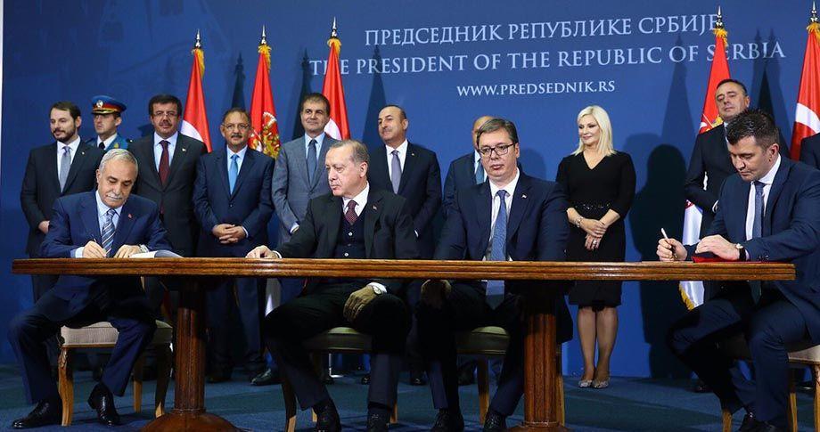 Bakan Fakıbaba Sırbistan'da