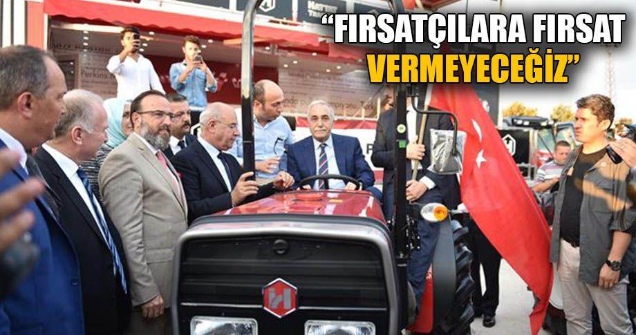 Bakan Fakıbaba, tarımda önemli adımlar atıyor