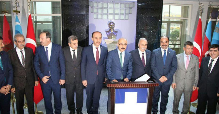Bakan Fakıbaba ve Elvan Şanlıurfa Valiliği'ni ziyaret etti
