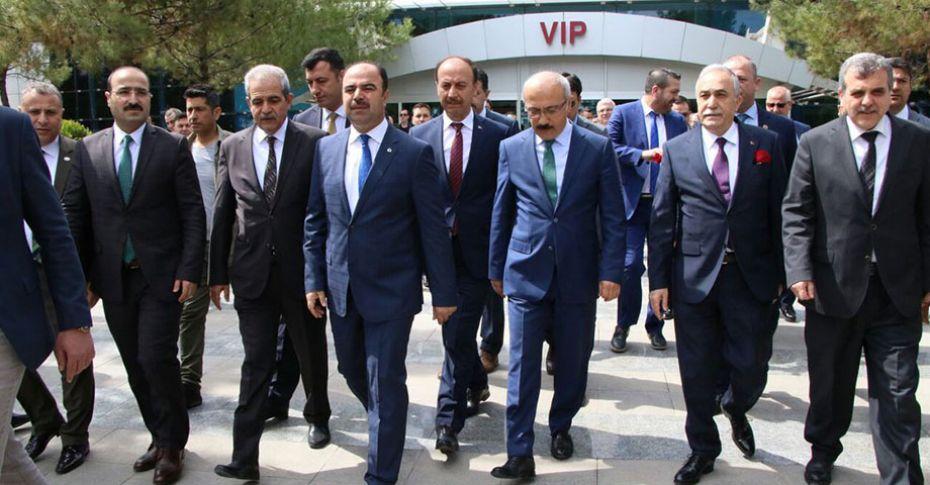 Bakan Fakıbaba ve Elvan Şanlıurfa'da