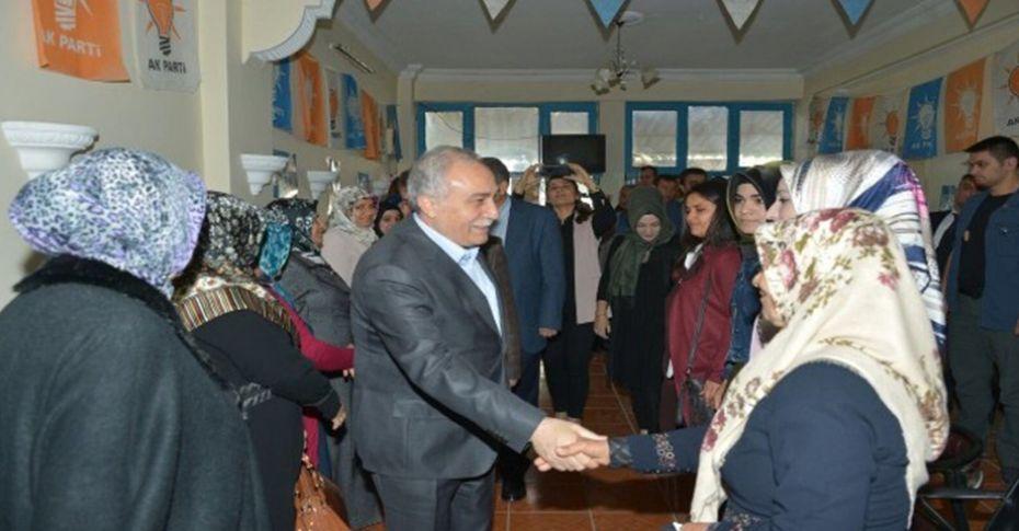 Bakan Fakıbaba'nın Şanlıurfa temasları