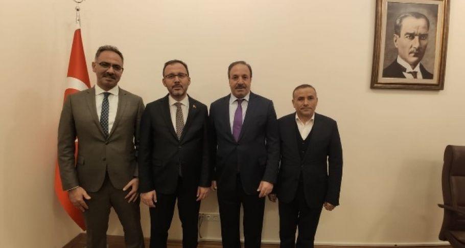 Bakan Kasapoğlu'ndan proje sözü