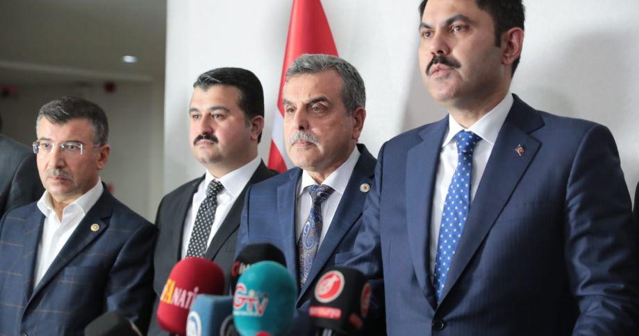 Bakan Kurum'dan Şanlıurfa'ya Müjdeli Haberler