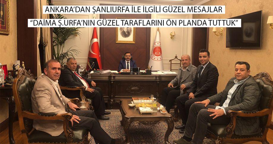 Ankara'dan Şanlıurfa'ya mesaj var... (Videolu)