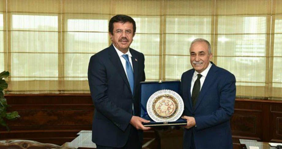 Bakan Zeybekçi'den Fakıbaba'ya ziyaret