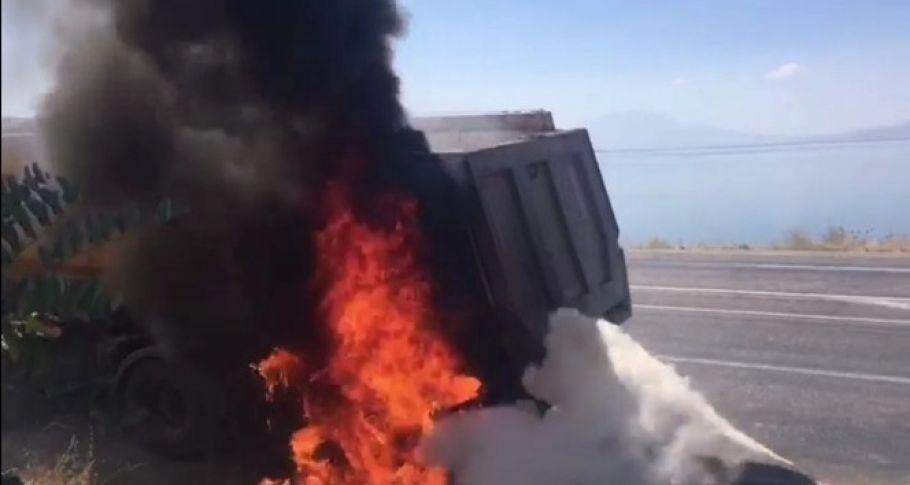 Balatalar yangına neden oldu