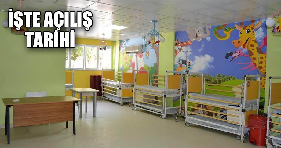 Balıklıgöl Devlet Hastanesi'nde çocuk polikliniği açılıyor