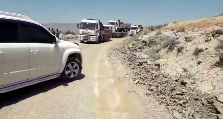 Baraj kapakları açıldı, yol ulaşıma kapandı!