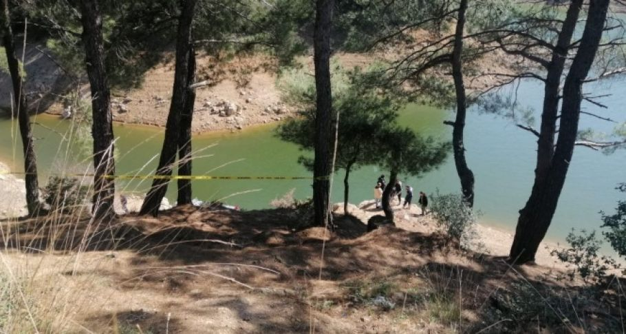 Barajda kesik insan kolu bulundu!