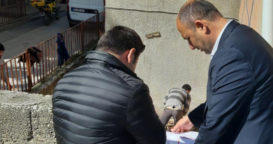 Başkan Aksoy, çalışmalarına başladı