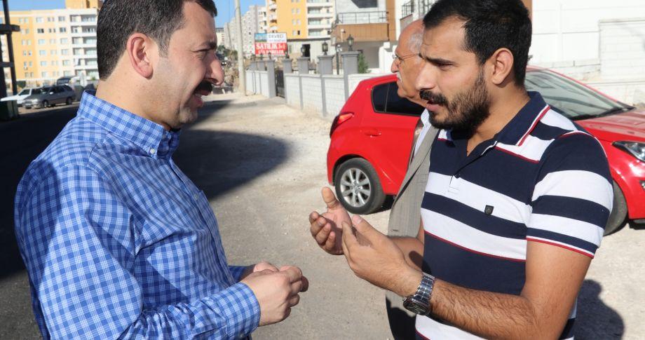 Başkan Baydilli Alan Gezilerini Sürdürüyor