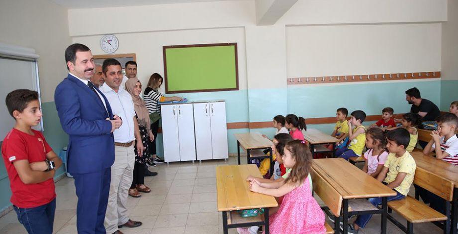 Başkan Baydilli ilkokul öğrencileriyle bir araya geldi