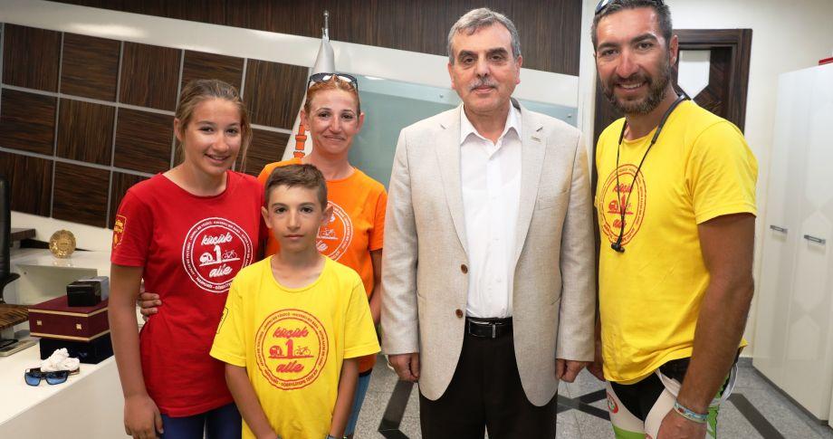 Başkan Beyazgül, Bisiklet Tutkunlarını Göbeklitepe'ye Davet Etti