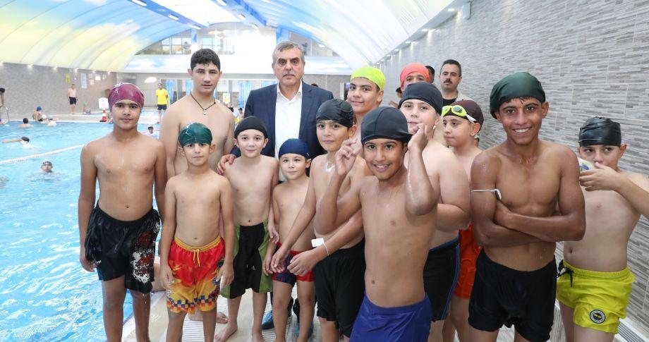 Başkan Beyazgül'den Ailelere Çağrı:Çocuklarımızı Kanaletlerden Uzak Tutalım