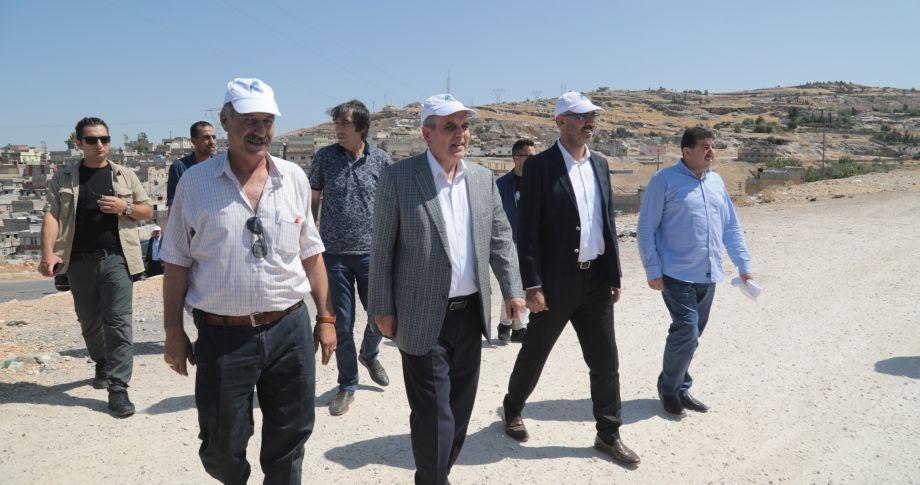 Başkan Beyazgül'den Eyyübiyelilere Müjde: Eyyübiye'ye Yeni Parklar Yapılıyor(videolu)
