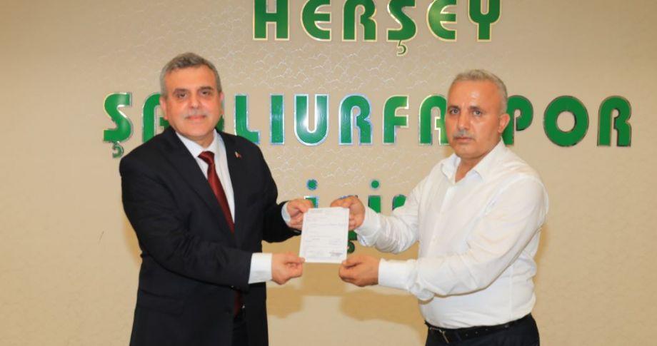 Başkan Beyazgül'den Şanlıurfaspor'un kampanyasına destek