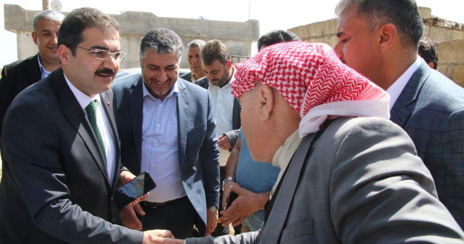 Başkan Canpolat, kırsalda vatandaşlarla birlikte(videolu)