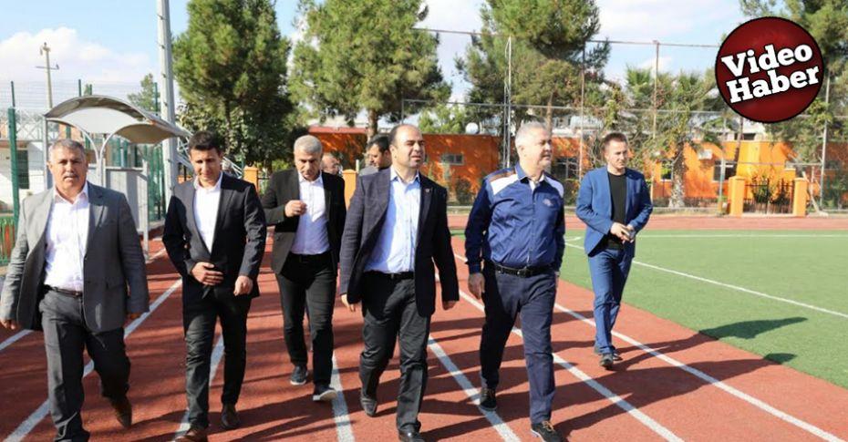 Başkan Çiftçi, amatör futbolcuları ziyaret etti