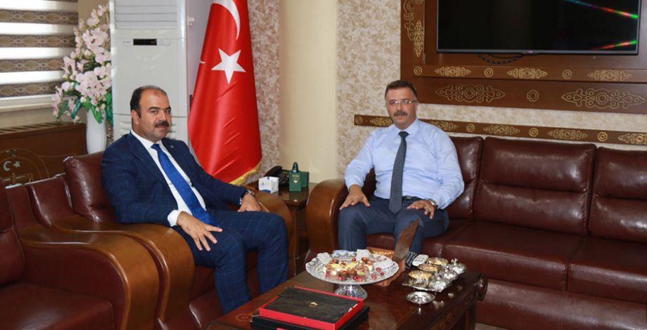 Başkan Çiftçi'den Başsavcı Öztoprak'a ziyaret